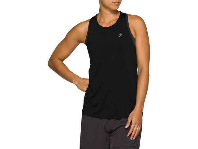 asics Race Top sin mangas Mujer, performance black